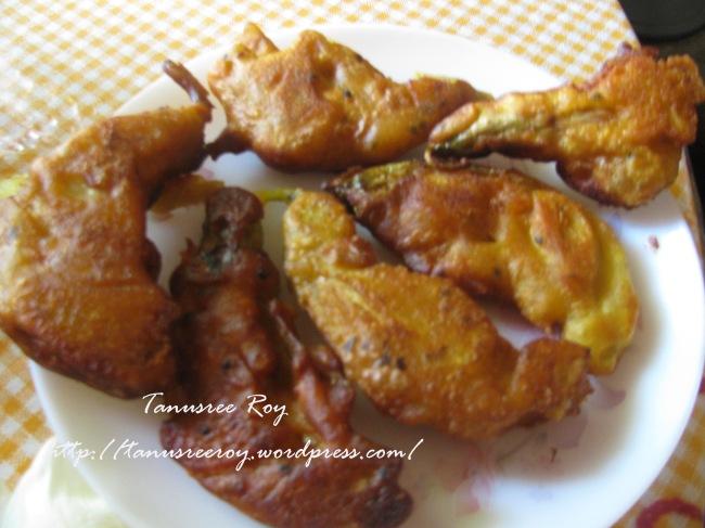 Maple seed fritters or Bokfuler Bora :Bengali cuisine